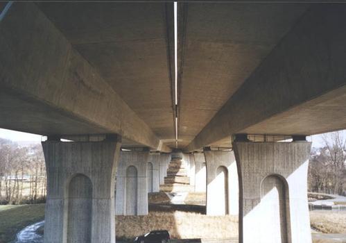 Autobahn A9 – Talbrücke Münchberg – Untersicht