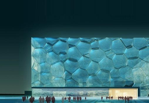 Watercube, National Swimming Center, Beijing