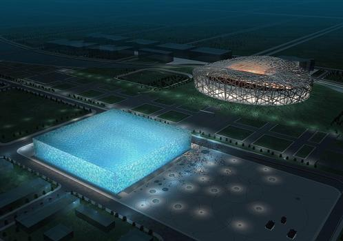Watercube, National Swimming Center, Beijing © PTW Architects + CSCEC+design + ARUP