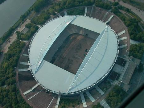 Luftaufnahme Zentralstadion Leipzig