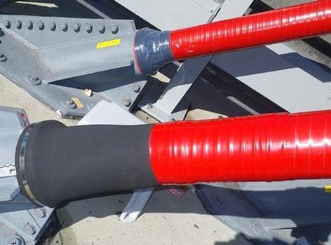 Seilmanschette ATIS cable boot und wasserdichter innerer Abschluß