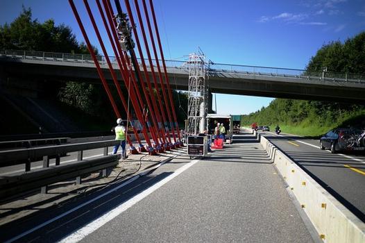 Talbrücke Obere Argen ATIS Seilroboter