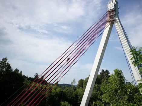 Talbrücke Obere Argen mit ATIS Seilroboter