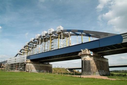Neue Eisenbahnbrücke Riesa