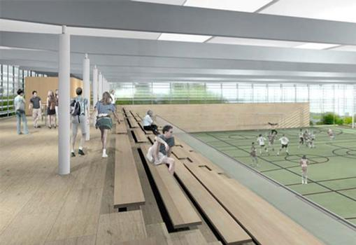 Centre des Sports et Loisiers, Luxembourg-Belair