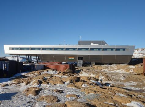 New Indian Research Station on Larsemann Hills, Antarctica