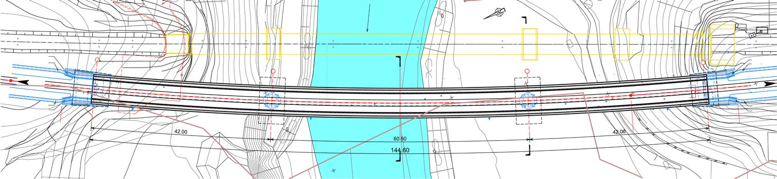 Ötztaler Achbrücke - Lageplan