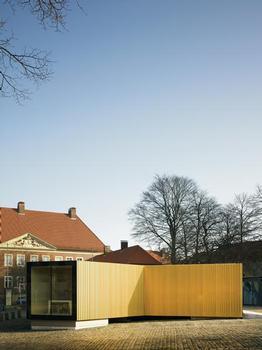 """Ein Pavillon für die """"Goldene Pracht"""""""