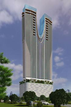 The Minvera Tower in Mumbai will be formed with Doka's automatic climbing formwork