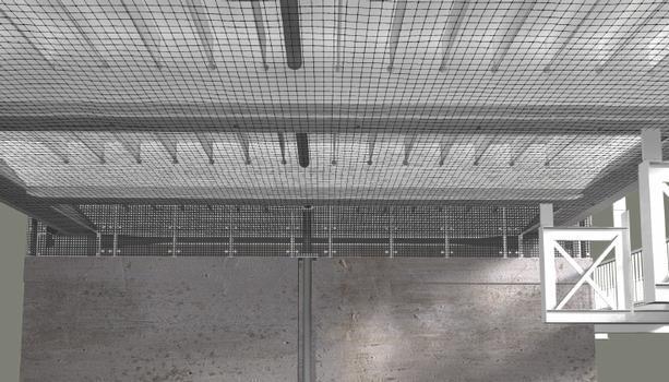 VES 1 - Geklebte Netze mit Reißverschlüssen