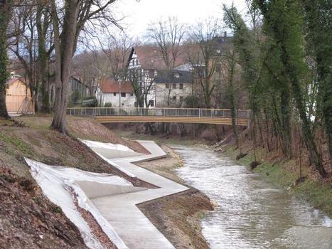 Blockträgerbrücke Schillersteg, Schwäbisch Gmünd