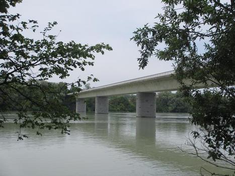 Neue Innbrücke bei Schärding