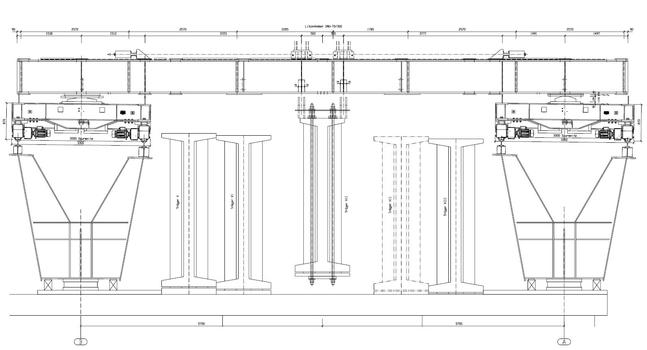 Windelbachtalbrücke - méthode de construction