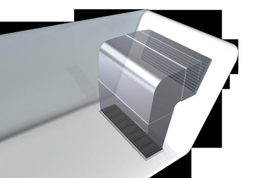 Sandwich-Boden mit Duplexbeschichteten Pressrosten
