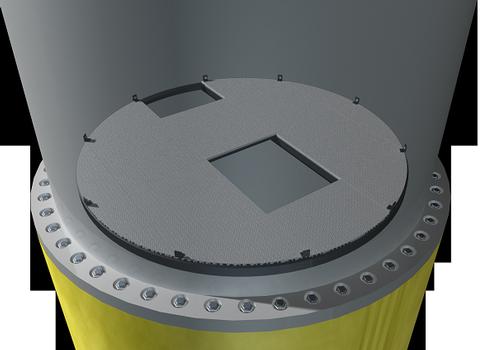 Beläge für Plattformen können in unterschiedlichen Werkstoffen und Varianten geliefert werden