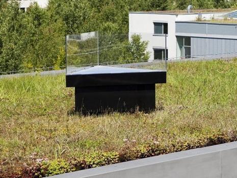 Schneelast-Warnsystem zur permanenten Kontrolle der Dachlast