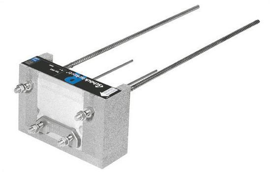 Der Isokorb Typ RKS ist ein tragendes Wärmedämmelement für den Anschluss von frei auskragenden Stahlbalkonen an bestehende Stahlbetondecken