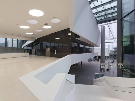 """NürnbergMesse - Nouveau pavillon d'entrée """"Mitte"""""""