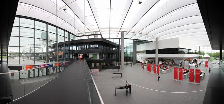 "NürnbergMesse - Neuer Eingang ""Mitte"""
