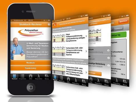 Die neue PU Steildach-App - U-Wert- und Feuchteschutzberechnung direkt auf der Baustelle