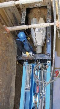 Grabenlose Erneuerung sanierungsbedürftiger Leitungen mit der GRUNDOBURST-Technik