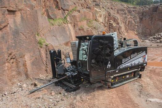 Der neue GRUNDODRILL 18 ACS für Fels- und Standardbohrungen