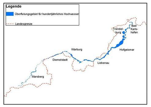 Überschwemmungsgebiet der Diemel