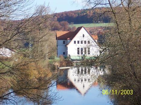 Wasserkraftanlage an der Diemel bei Wülmersen