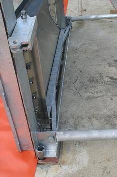 Die Fundamentplattenanker passen für alle T-Säulen