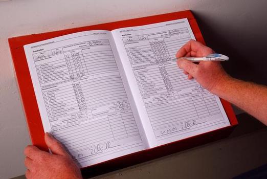 Das Betriebsbuch für Wasser-Löschanlagen
