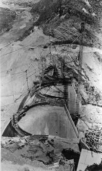 Coolidge Dam, Arizon. (HAER, ARIZ,11-PERI.V,1-22)