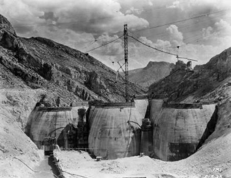 Coolidge Dam, Arizon. (HAER, ARIZ,11-PERI.V,1-23)