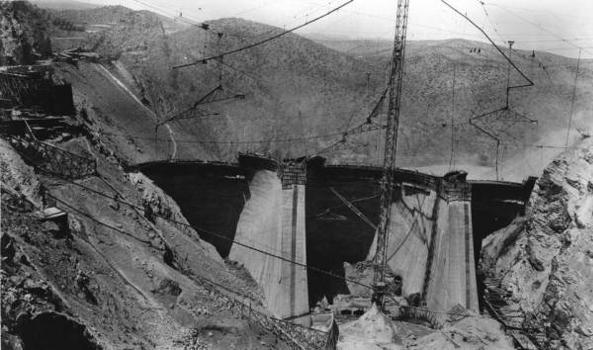 Coolidge Dam, Arizon. (HAER, ARIZ,11-PERI.V,1-24)