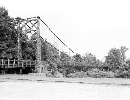 HAER: Winkley Bridge, Spanning Little Red River adjacent to State Highwa, Heber Springs, Cleburne County, AR  (HAER, ARK,12-HESP,1-2)