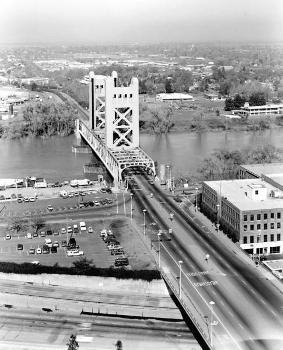 Tower Bridge, Sacramento. (HAER, CAL,34-SAC,58-11)