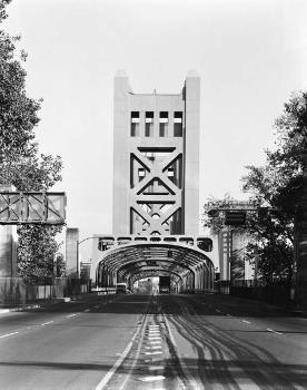 Tower Bridge, Sacramento. (HAER, CAL,34-SAC,58-10)