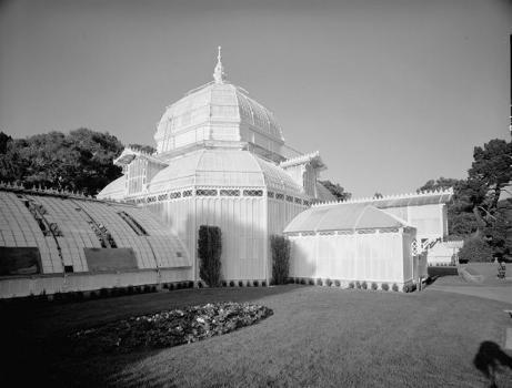 Conservatory of Flowers, Golden Gate Park, Golden Gate (HABS, CAL,38-SANFRA,147-2)