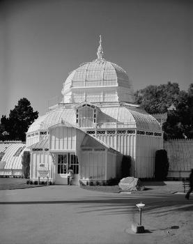 Conservatory of Flowers, Golden Gate Park, Golden Gate (HABS, CAL,38-SANFRA,147-3)