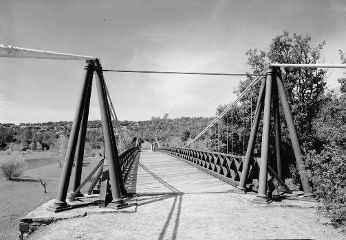 Bidwell Bar Suspension Bridge (HAER CAL,4-ORO.V,1-2)
