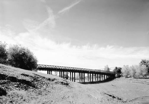 Bidwell Bar Suspension Bridge (HAER CAL,4-ORO.V,1-5)
