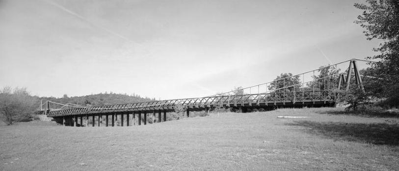 Bidwell Bar Suspension Bridge (HAER CAL,4-ORO.V,1-6)