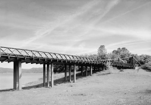 Bidwell Bar Suspension Bridge (HAER CAL,4-ORO.V,1-7)