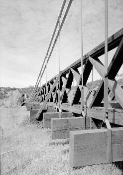 Bidwell Bar Suspension Bridge (HAER CAL,4-ORO.V,1-8)