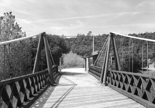 Bidwell Bar Suspension Bridge (HAER CAL,4-ORO.V,1-9)