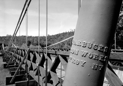 Bidwell Bar Suspension Bridge (HAER CAL,4-ORO.V,1-12)