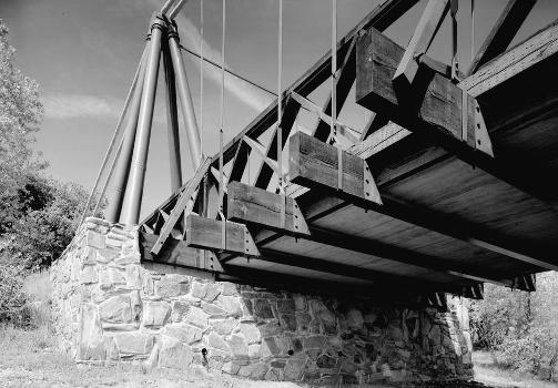 Bidwell Bar Suspension Bridge (HAER CAL,4-ORO.V,1-13)