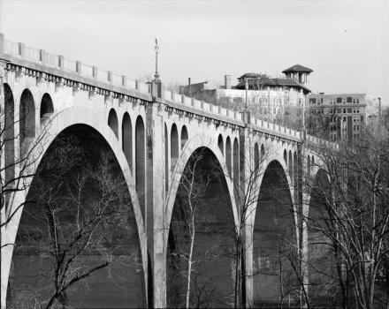 Connecticut Avenue Bridge (William H. Taft Bridge), Washington, D.C. HAER, DC,WASH,560-2)