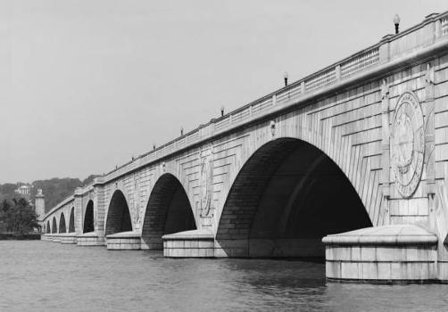 Arlington Memorial Bridge. (HAER, DC,WASH,563-2)