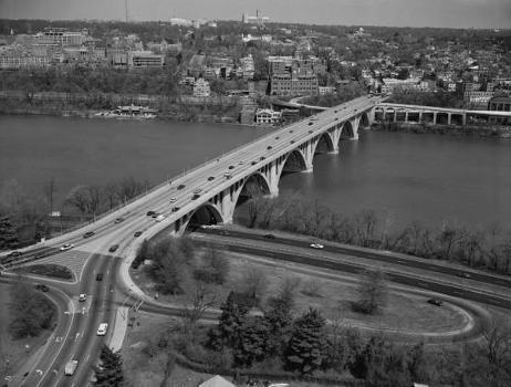 Francis Scott Key Bridge, Washington, DC. (HAER, DC,WASH,583-3)