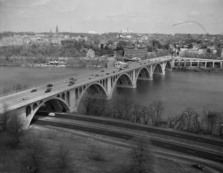 Francis Scott Key Bridge, Washington, DC. (HAER, DC,WASH,583-4)